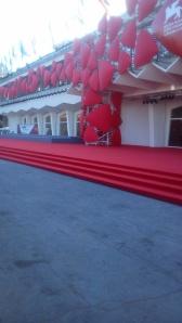 O tapete vermelho