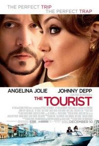 """Poster de lançamento do filme """"O Turista"""""""