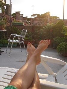 Uma das terraças de Veneza