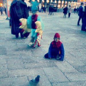 Carnaval para crianças na Praça de São Marcos