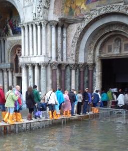 Entrada na Basílica de São Marcos